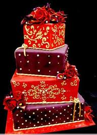 Beautiful decorated Gift Cake!